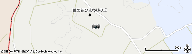 宮城県大崎市三本木斉田(真岸)周辺の地図