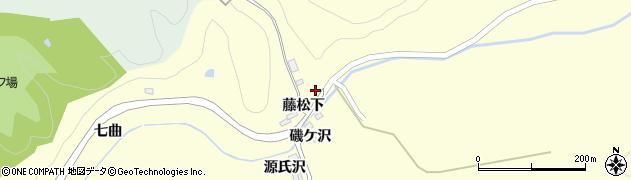 宮城県大崎市三本木桑折(藤松下)周辺の地図