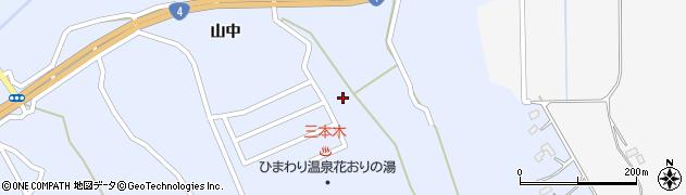 宮城県大崎市三本木坂本(坂下)周辺の地図