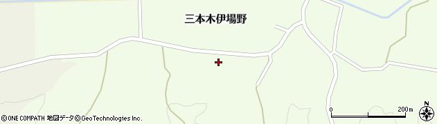 宮城県大崎市三本木伊場野(川井山)周辺の地図