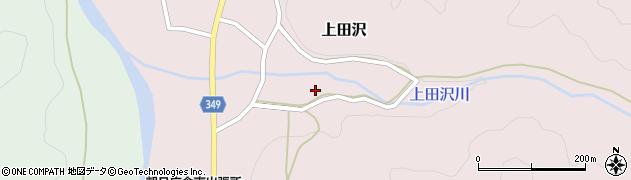 山形県鶴岡市上田沢(押出)周辺の地図