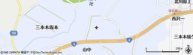 宮城県大崎市三本木坂本(新小次郎)周辺の地図