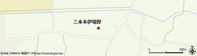 宮城県大崎市三本木伊場野(川井)周辺の地図