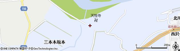 宮城県大崎市三本木坂本(寺前)周辺の地図