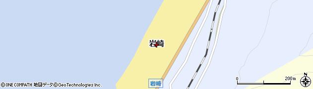 新潟県村上市岩崎周辺の地図
