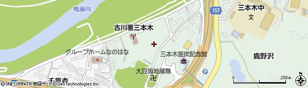 宮城県大崎市三本木(廻山)周辺の地図