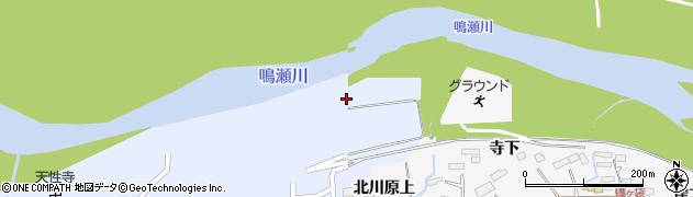 宮城県大崎市三本木坂本(北川原)周辺の地図