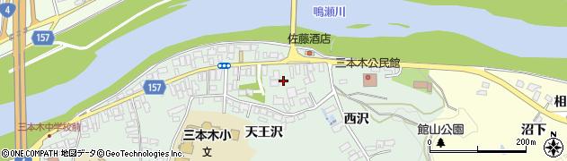 宮城県大崎市三本木(南町)周辺の地図