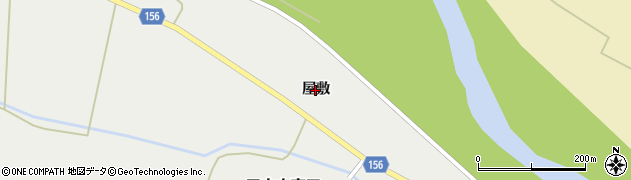 宮城県大崎市三本木斉田(屋敷)周辺の地図