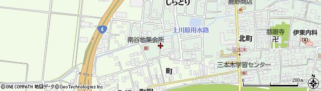 宮城県大崎市三本木(新鹿嶋)周辺の地図