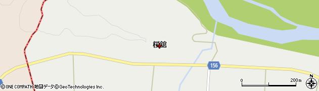 宮城県大崎市三本木斉田(桜舘)周辺の地図
