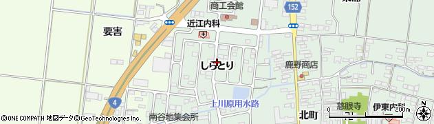 宮城県大崎市三本木(しらとり)周辺の地図