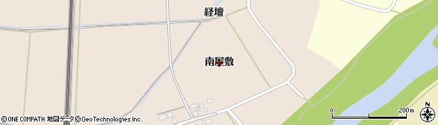 宮城県大崎市三本木蒜袋(南屋敷)周辺の地図
