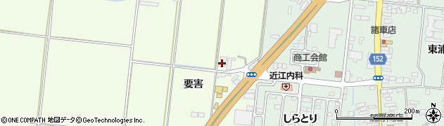宮城県大崎市三本木南谷地(要害)周辺の地図