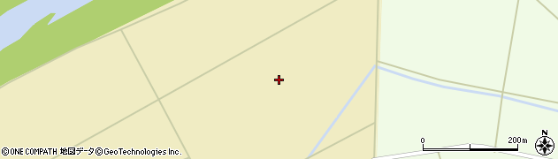 宮城県大崎市三本木上伊場野(新広瀬)周辺の地図