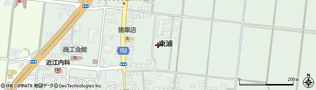 宮城県大崎市三本木(東浦)周辺の地図