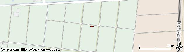 宮城県大崎市三本木(土婦)周辺の地図