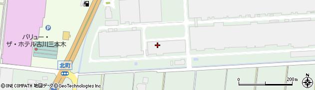 宮城県大崎市三本木(吉田)周辺の地図