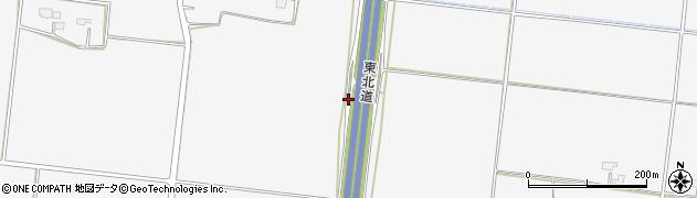 宮城県大崎市三本木新沼(薬師)周辺の地図