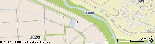 宮城県大崎市三本木蒜袋(住吉)周辺の地図