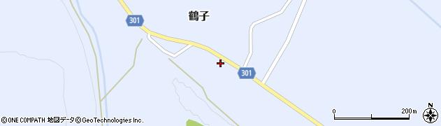 山形県尾花沢市鶴子869周辺の地図