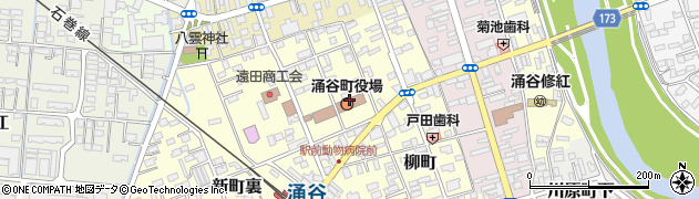 宮城県遠田郡涌谷町周辺の地図