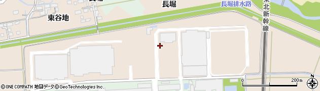 宮城県大崎市三本木蒜袋(大谷地)周辺の地図