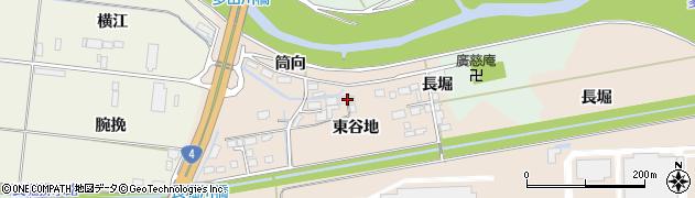 宮城県大崎市三本木蒜袋(東谷地)周辺の地図