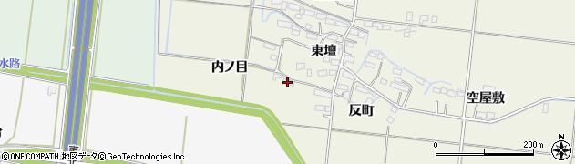 宮城県大崎市三本木高柳(内ノ目)周辺の地図