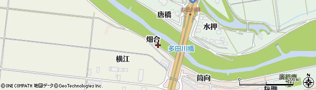 宮城県大崎市三本木蒜袋(畑合)周辺の地図