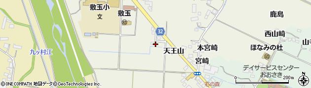 宮城県大崎市古川石森(石神)周辺の地図