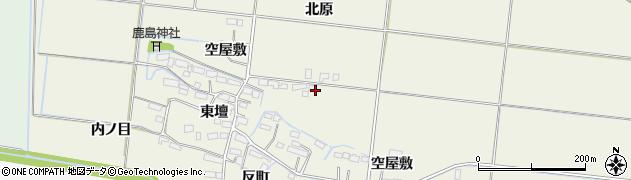 宮城県大崎市三本木高柳(北原)周辺の地図