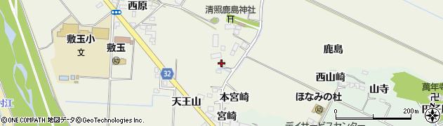 宮城県大崎市古川石森(宮在家)周辺の地図
