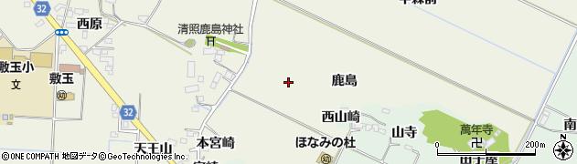 宮城県大崎市古川石森(鹿島)周辺の地図