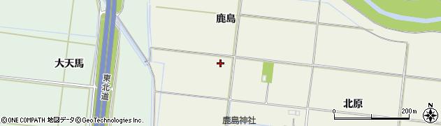 宮城県大崎市三本木高柳(伊勢堂)周辺の地図