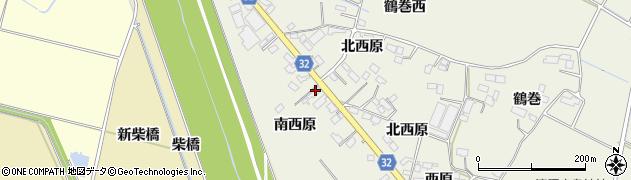 宮城県大崎市古川石森(南西原)周辺の地図