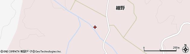 山形県尾花沢市細野271周辺の地図