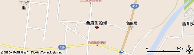 宮城県加美郡色麻町周辺の地図