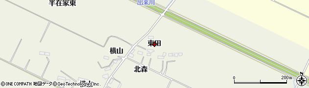 宮城県大崎市古川石森(東田)周辺の地図