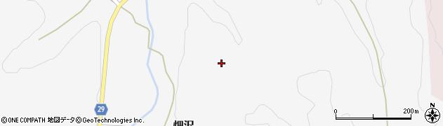 山形県尾花沢市畑沢荒屋敷周辺の地図