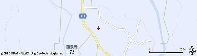 山形県尾花沢市鶴子445周辺の地図