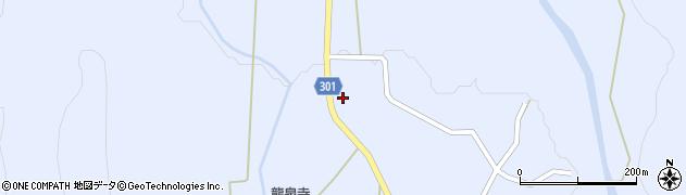 山形県尾花沢市鶴子453周辺の地図