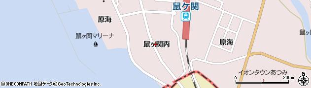 山形県鶴岡市鼠ヶ関(丙)周辺の地図