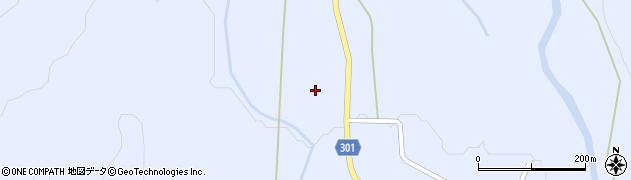 山形県尾花沢市鶴子350周辺の地図
