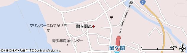 山形県鶴岡市鼠ヶ関(乙)周辺の地図