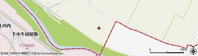 宮城県大崎市田尻北小牛田(新宅地二)周辺の地図