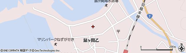 山形県鶴岡市鼠ヶ関(興屋)周辺の地図