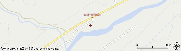 山形県鶴岡市大針(道下)周辺の地図