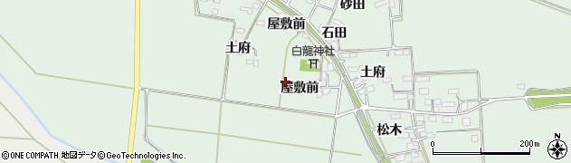 宮城県大崎市古川飯川(屋敷前)周辺の地図