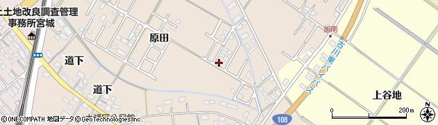宮城県大崎市古川大幡周辺の地図